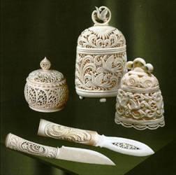 Kholmogory Bone Carving Visual Arts Culture Arts Russia Infocentre