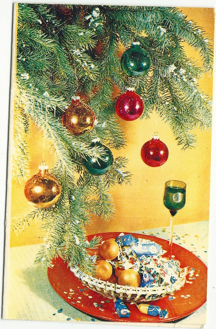 Old Soviet New Years Postcards Visual Arts Culture Arts