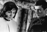 Evgenyi Zharikov (1941) and Valentina Malyavina (1941) in Ivan's Childhood (1962)